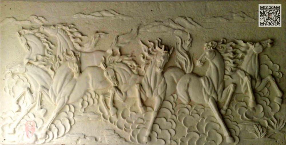 河南砂岩浮雕