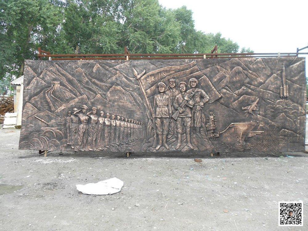 郑州历史陈列馆浮雕