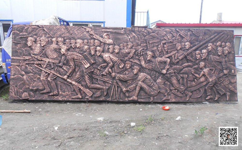 安阳纪念馆浮雕