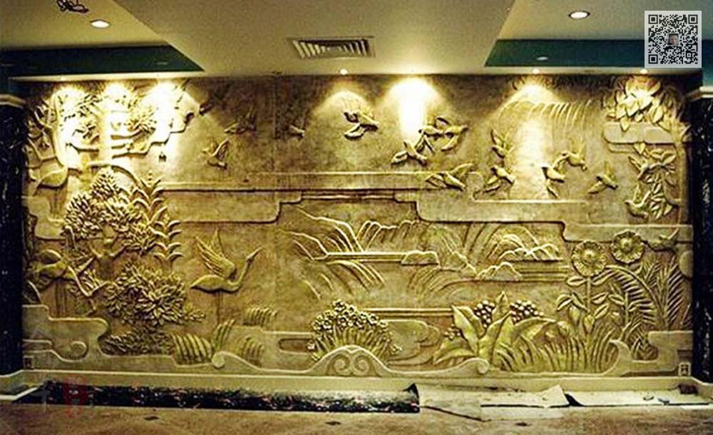 郑州大堂砂岩浮雕