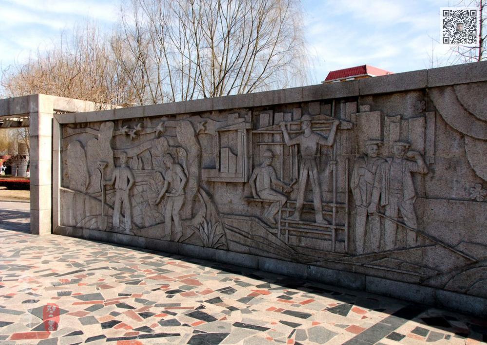 浮雕背景墙