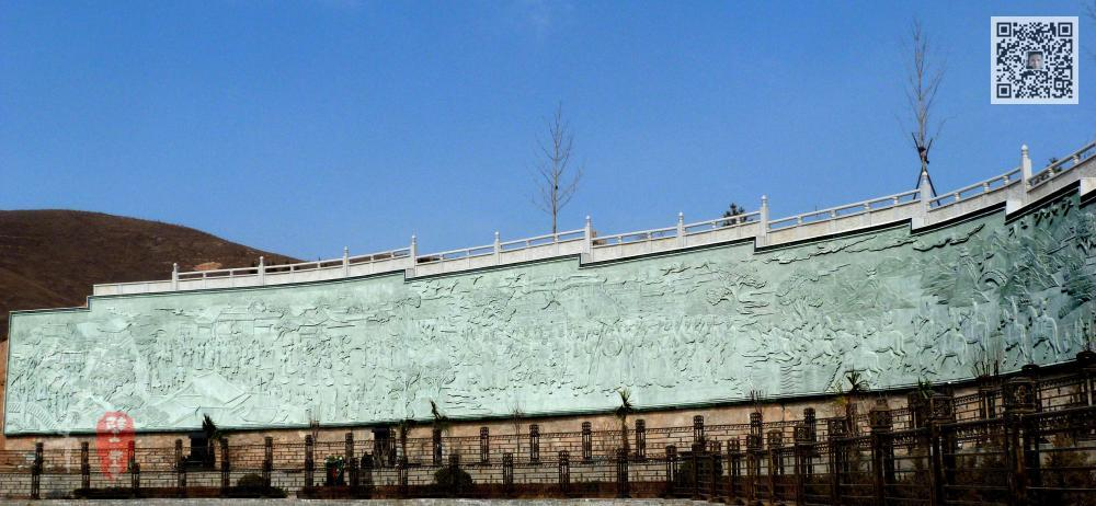 景观长廊浮雕
